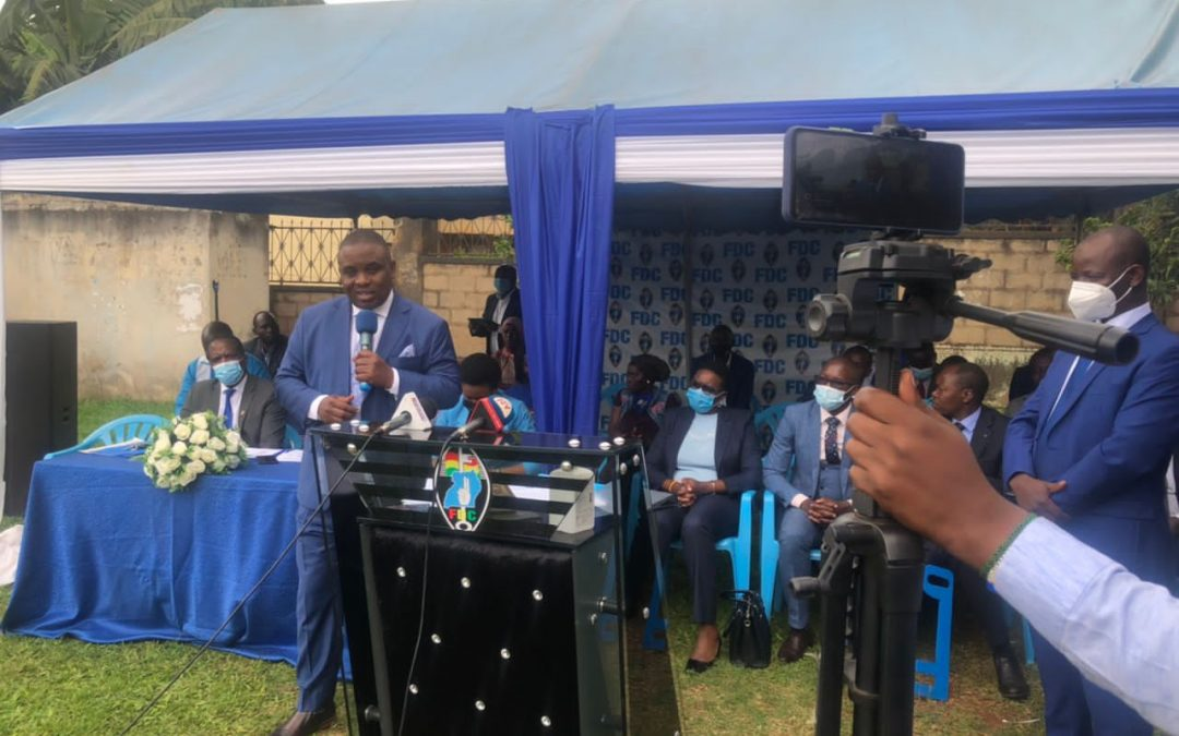 Lukwago sworn in as FDC Deputy President Central Region, vows to leave a legacy